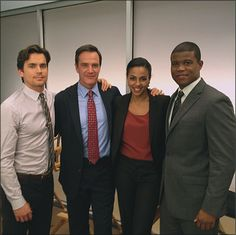 White collar - Neal, Peter, Diana, Jones