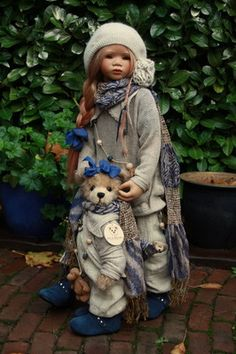 Himstedt Kinder redressed by Marjolein...lilith with linde  2008