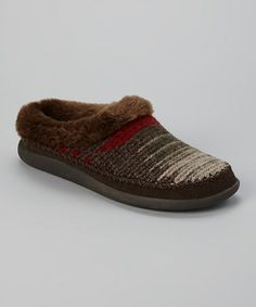 Take a look at this Picante Gray Dove Creek Slipper - Women by Woolrich on #zulily today!