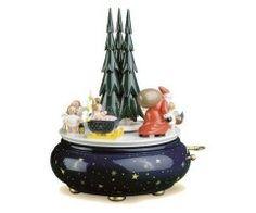 Spieldose Weihnachtszug von Wendt und Kühn Spieluhren