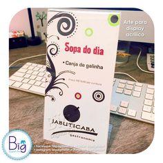 • Arte Display Restaurante • Facebook: bigdigitalart.br | Twitter: bigdigitalart | Flickr: bigdigitalart #bigdigitalart #graphicdesign #art #artwork #digitaldesigns #customprints #designgrafico #designergrafico #graphicdesigner #arteparacartaodevisita #artedigital #businesscard #cartaodevisita #digitaldesign #comunicacaovisual #designdigital #digitalart #projetosgraficos #impressao #print #disenografico #comunicacaovisual #diagramacao #projetosgraficos #solucoesvisuais #imagepaper #instagram