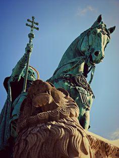 Monumento a Re Stefano, Budapest