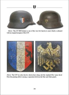The Helmet Decals of the Third Reich - Book German Helmet, The Third Reich, Riding Helmets, The Book, Champagne, Decals, Bible, History, Books