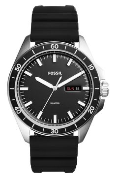 5c6866c227 Fossil Sport 54 Silicone Strap Watch