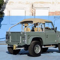 Image may contain: outdoor Defender 90, Land Rover Defender, Land Rover 88, Land Rover Series 3, Lifted Ford Trucks, 4x4 Trucks, Offroader, Expedition Vehicle, Modified Cars