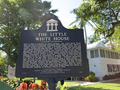 The Little White House has a very interesting history.  Built in 1890 as quarters for Navy officers, the Little White House later was used by American Presidents William Howard Taft, Harry S. Truman, Dwight Eisenhower, John F. Kennedy, Jimmy Carter, and Bill Clinton for both vacation and policy making.