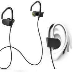 Sport Earphone Headphones Earhook fone de ouvido Running Handfree Stereo Earpiece Earhook Earbud Bluetooth Headset for All Phone