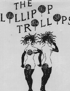 The Lollipop Trollops illustration by Edward Gorey for cover of book of poetry by Alexander Theroux