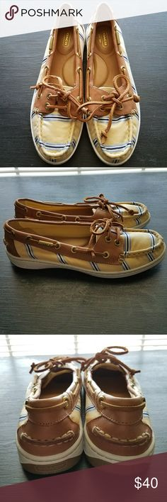Coach Slip On Shoes Pristine condition - only worn twice! Made with leather and a padded insole which makes them very comfortable! Perfect for summertime :) Coach Shoes