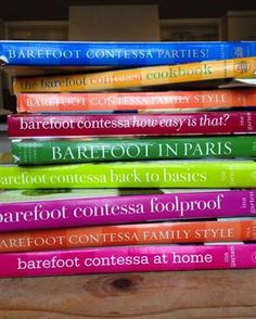 Some of the greatest cookbooks #BarefootContessa