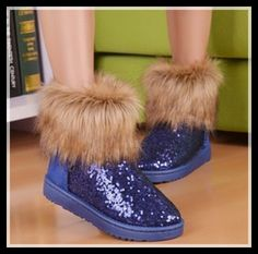 Cheap boots lightweight, Buy Quality boots international directly from China boots plats Suppliers:2014 Women Lady Girl's Winter Autumn Thick Warm High Long Snow Ankle Boots Faux Fox Rabbit Fur Tassel Fashion Casual Sho