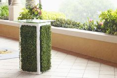 """<p> <a href=""""http://www.bizbash.com/chic-event-furniture-rental/orlando/listing/861010"""">Chic Event Furniture Rental</a> in Orlando has created a new cocktail table inspired by hedge walls. The table..."""