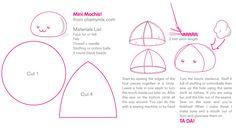 Mini Mochi Pattern Sheet by coconut-lane on DeviantArt