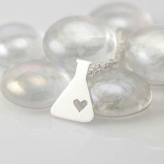 Love Potion Silhouette Necklace