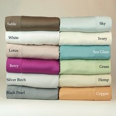 Bamboo sheets are wonderful!