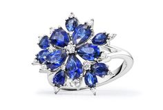 Image result for paul morelli stellanise blue sapphire and diamond necklace