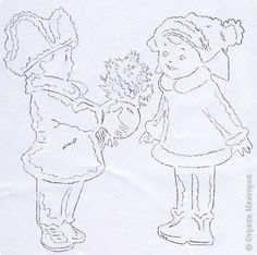 По советской поздравительной открытке (автора не знаю, к сожалению). фото 11