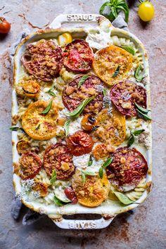 New! 25 Late Summer Peach + Tomato + Corn + Zucchini Recipes | halfbakedharvest.com @hbharvest