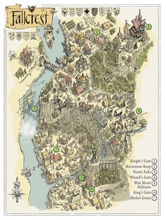 The City of Fallcrest: Crossroads of the Nentir Vale