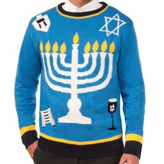 Step Up in a Men's Ugly Christmas Sweater Suit   Costumes ...