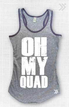 Oh My Quad Tank by everfitte on Etsy, $26.00 #workout #fitness #Tanktop #yoga #runner #run #crossfit #fashion