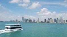 Faça um tour por Miami e um passeio de barco pela baía!