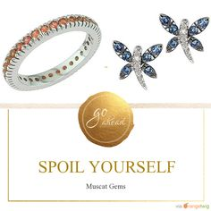 Follow us on Pinterest. www.muscat-gems.com No synthetics, imitations, dyed or lead glass filled stones - just beautiful natural gemstones are used in our jewellery! #pinksapphirerings #sapphirejewellery #eternityrings #engagementrings #tsavorite #rubyjewellery #sapphirerings #sapphireearrings #pavéjewellery #sapphirependants #love #muscatgems               https://www.muscat-gems.com
