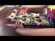 Mulher.com 29/01/2013 Regiane Tartari - Carteira origami - YouTube