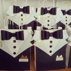 Our elegant personalized goodie bags will be a success on Mr. ONEderful Tuxedo Themed 1st Birthday ...