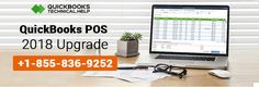 QuickBooks #POS #2018 Upgrade : https://www.quickbookstechnical.help/quickbooks-pos-2018-upgrade/