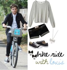 """13) Bike Ride With Louis"" by my-one-direction-outfits on Polyvore"