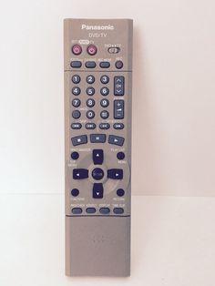 Genuine Panasonic EUR7615KJ0 TV/DVD Remote,DMRE30,DMRE30D,DMRE30K,Tested/Works #Panasonic
