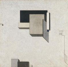 Proun+1+C,+1919+-+El+Lissitzky