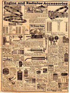 Model T Ford Forum: Circa. 1919 Sears Auto Parts catalog/leaflet (entire catalog) Auto Parts Catalog, Ford Models, Car Parts, Batman, Hacks, Messages, Vintage, Autos, Tips
