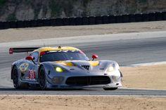 Jonathan Bomarito's and Kuno Wittmer's SRT Motorsports Viper GTS-R in turn two.