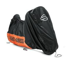 Indoor motorcycle cover protects your bike from dust and scratches.