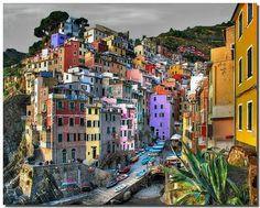 Riomaggiore, Italy  Cinque Terra...I was just there