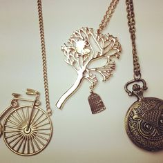 NEW Whimsical Charm necklaces!