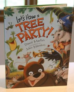 From The Mama Report: Books to help kids get moving from Candlewick Press - we did a GREAT Tree Party of our own with David Martin, he is a fantastic author!