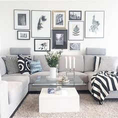Lovely pic choice and combination on the wall  Inspired by @annabylove  #interiordesign #interiorhomeinspirations #livingroom
