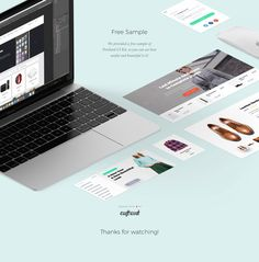 """Portland UI Kit by Craftwork"" http://be.net/gallery/38807447/Portland-UI-Kit-by-Craftwork"