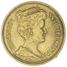 5 Gulden 1912, 900 Gold