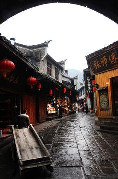 // Les Paysages Asiatiques / Phoenix Ancient Town, Hunan, China 湖南 鳳凰古城 สนใจร่วมทริปคลิ๊กเลย http://www.joytour.com/home/?view=package&land=china&show=list