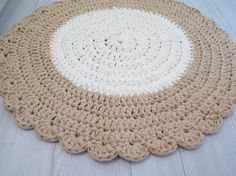 Crochet Rug Pattern On Pinterest Rugs Crochet Rugs And Oval Rugs