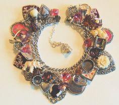 Vintage Charm bracelet by Etsy designer BrightAndBeautiful88