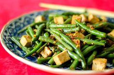 Judías verdes Sichuan y queso de soja sin gluten, vegano) Receta - Food.com