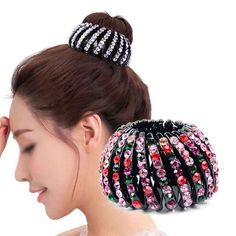 Girl's Accessories Fashion Hair Claws Imitation Pearl Lady Headwear Accessories For Women Hairpins Plastic Elastic Barrette Hot As Effectively As A Fairy Does Apparel Accessories