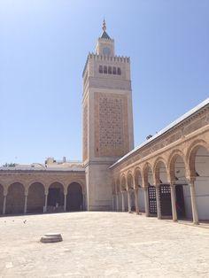 Mosquée Zétouna à Tunis