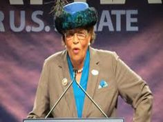 "Congresswoman Alma Adams (D-N.C.), above, says Betsy DeVos has a history of supporting policy that would leave ""students at the mercy of for-profit education."""