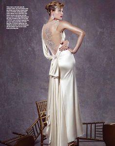 Gown. Ines Di Santo.